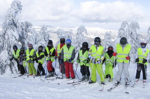 """12. Jazda na nartach na """"zimowej szkole"""""""