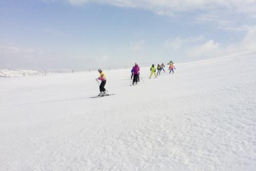 13. Nauka jazdy na nartach